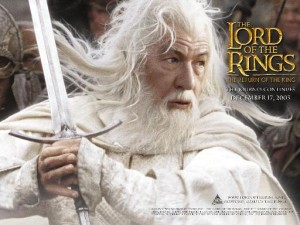 Sir Ian Murray McKellen as Gandalf