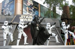 star wars dance off