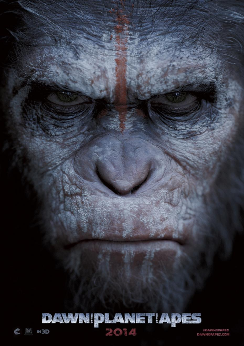 Dawn of the Planet of the Apes  シーザー率いる進化した猿たちと生