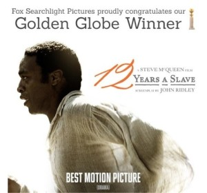 12 Years A Slave golden globe