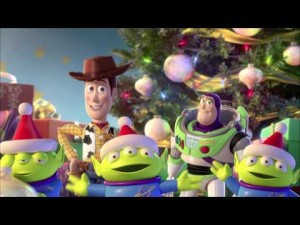Toy Story happy holidays