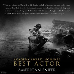 American Sniper academy best actor