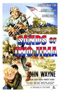 sands of iwo island