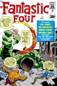 the fantastic four #1